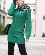 New Designs Of Winter Long Sweaters For Women 003