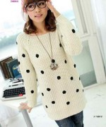 New Designs Of Winter Long Sweaters For Women 008