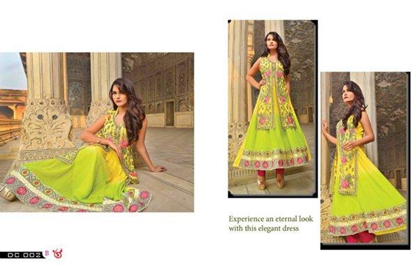 Salam Textile Wijdaan Winter Dresses 2014 For Women 0011