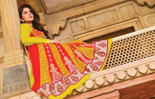 Salam Textile Wijdaan Winter Dresses 2014 For Women 0014