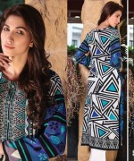 Strawberry Embroidered Kurti Collection 2014 For Girls 11