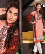 Strawberry Embroidered Kurti Collection 2014 For Girls 2