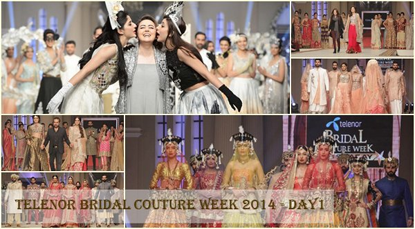 Telenor Bridal Couture Week 2014 Day 1 Pictures