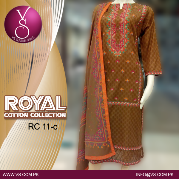 VS Textile Mills Cotton Collection 2015 For Women 003