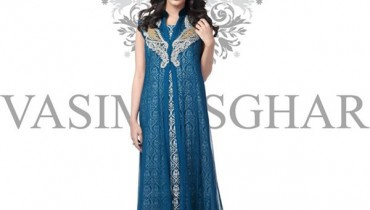 Vasim Asghar Winter Dresses 2014 For Women 006