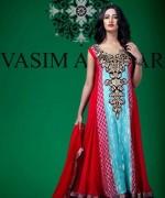 Vasim Asghar Winter Dresses 2014 For Women 007