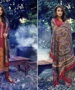 Warda Designer Winter Dresses 2014 Volume 2 For Women 0012