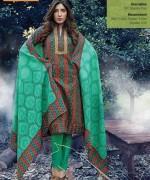 Warda Designer Winter Dresses 2014 Volume 2 For Women 0013