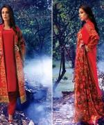 Warda Designer Winter Dresses 2014 Volume 2 For Women 0014
