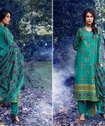Warda Designer Winter Dresses 2014 Volume 2 For Women 0017