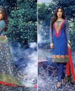 Warda Designer Winter Dresses 2014 Volume 2 For Women 003
