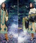 Warda Designer Winter Dresses 2014 Volume 2 For Women 005