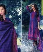 Warda Designer Winter Dresses 2014 Volume 2 For Women 008