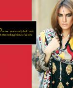 ZS Textiles Winter Dresses 2014 For Women 0011