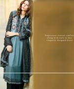 ZS Textiles Winter Dresses 2014 For Women 009