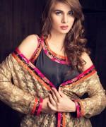 Zainab Hasan Winter Dresses 2014-15 For Girls 1