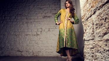 Zainab Hasan Winter Dresses 2014-15 For Girls 2