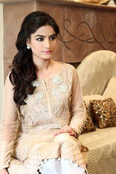 Zainab Salman winter dresses 2014 for women 004