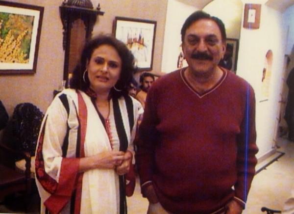 abid ali and wife
