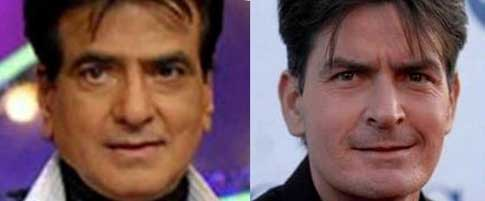 charlie sheen and jeetendra