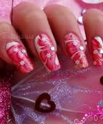 Beautiful Nail Art Designs 2015 For Valentines Day 13