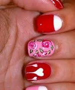 Beautiful Nail Art Designs 2015 For Valentines Day 4