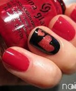 Beautiful Nail Art Designs 2015 For Valentines Day 5