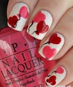 Beautiful Nail Art Designs 2015 For Valentines Day 6