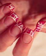 Beautiful Nail Art Designs 2015 For Valentines Day 7