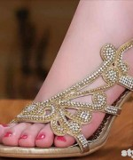 Bridal High Heel Shoes 2015 in Pakistan 2