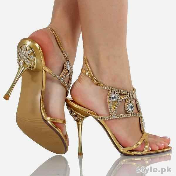 Bridal High Heel Shoes 2015 in Pakistan 4