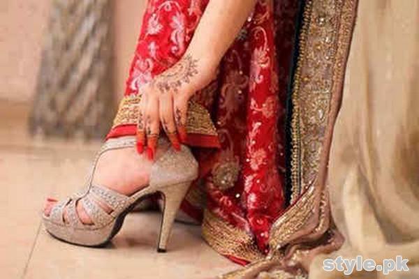 Bridal High Heel Shoes 2015 in Pakistan 8