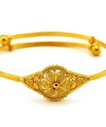 Designs Of Gold Bracelets For Girls 002