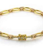 Designs Of Gold Bracelets For Girls 005