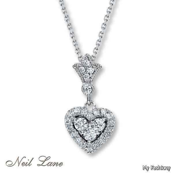 Diamond Necklaces 2015 For Girls