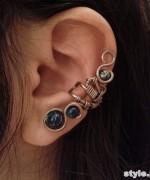 Fashionable Ear Cuff Designs 2015 For Women 3