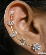 Fashionable Ear Cuff Designs 2015 For Women 7