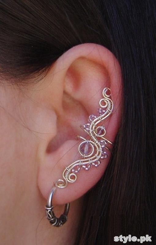 Fashionable Ear Cuff Designs 2015 For Women 9