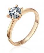 Gold Engagement Rings 2015 For Girls 0012