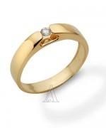 Gold Engagement Rings 2015 For Girls 002