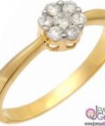 Gold Engagement Rings 2015 For Girls 004