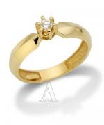 Gold Engagement Rings 2015 For Girls 006
