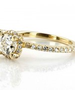 Gold Engagement Rings 2015 For Girls 007