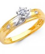 Gold Engagement Rings 2015 For Girls 009