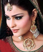 Gold Jewellery Set 2015 Designs For Brides 0015