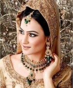 Gold Jewellery Set 2015 Designs For Brides 002