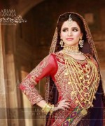 Gold Jewellery Set 2015 Designs For Brides 007