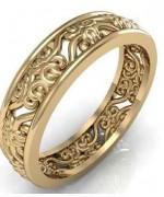 Gold Wedding Rings 2015 For Girls 0010