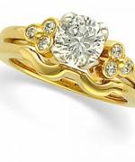 Gold Wedding Rings 2015 For Girls 0012
