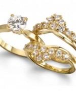 Gold Wedding Rings 2015 For Girls 002